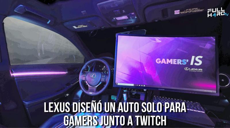 lexus auto para gamers