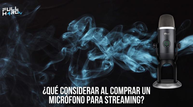 comprar microfono para streaming