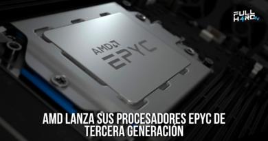 amd procesadores epyc 3ra generacion