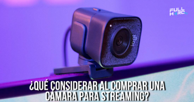 cámara para streaming