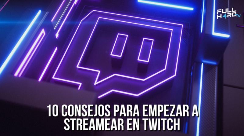 empezar a streamear en twitch