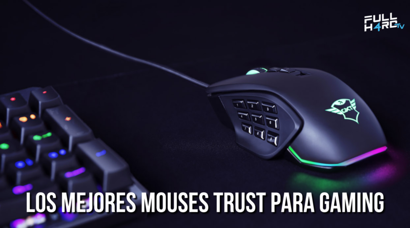 mejores mouses trust para gaming