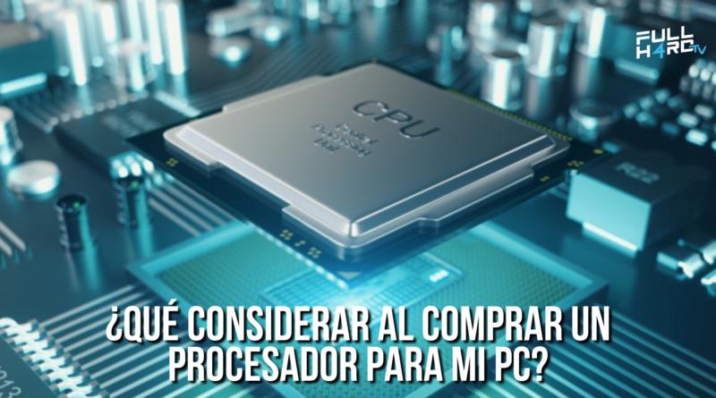 comprar procesador pc