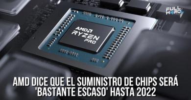 amd dice que el suministro de chips será 'bastante escaso' hasta 2022