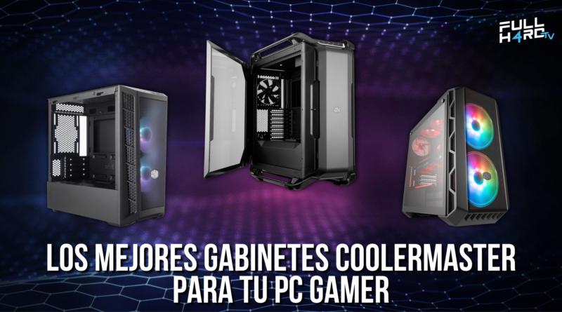 gabinetes cooler master pc gamer