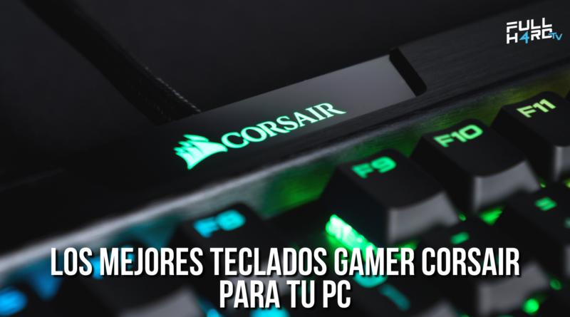 teclados gamer corsair