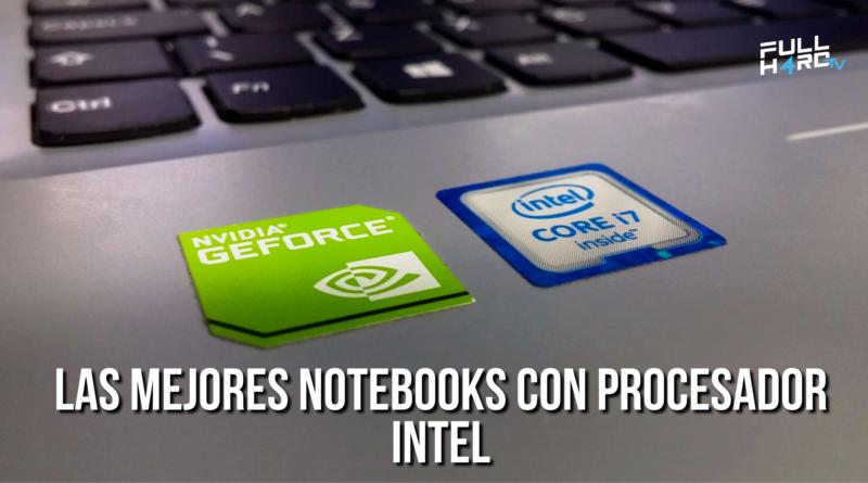 notebooks con procesador intel