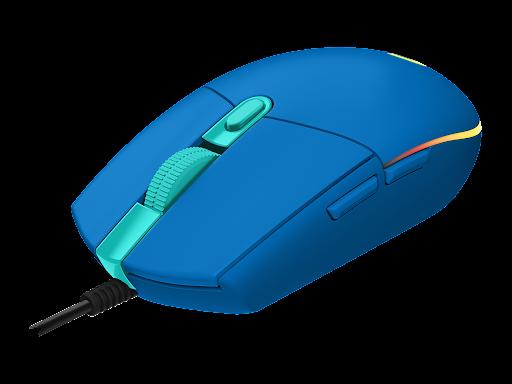 mouse logitech g203 azul