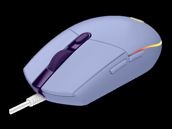 mouse logitech g203 lila